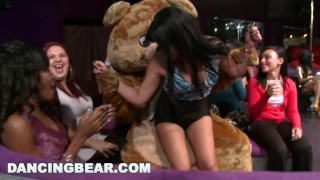 Party Party Party with the Muthafucking Dancing Bear! (db10128)  dancing bear girls gone wild bang bros bangbros bear party milf stripper group dancingbear male stripper ggw crazy db10128 girlsgonewild wild