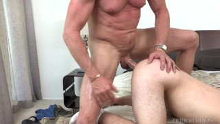 DylanLucas Stepdad Punishes Son with Big Cock porno