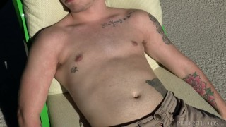 DylanLucas Stepdad Punishes Son with Big Cock Ass homemade