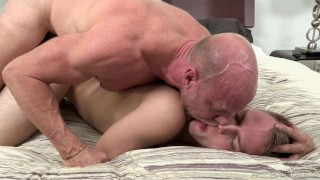 DylanLucas Stepdad Punishes Son with Big Cock Hand full