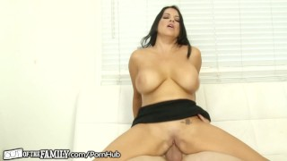 OutOfTheFamily Busty Mommy Squirts for Stepson  big tits high heels female orgasm squirt stepson blonde mom blowjob squirting step mother petite mother orgasm stepmom pussy licking pussy eating outofthefamily