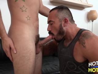 Daddy Alessio Romero Fucked by AJ Monroe