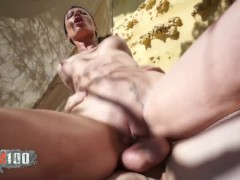 Perfect Milf slut with Perfect body fucked outdoor by younger guy
