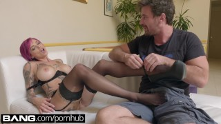 BANG Gonzo: Anna Bell Peaks Squirts All Over In Raw Fuck Session Cumshot tits