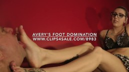 Avery's Foot Domination - www.c4s.com/8983/17331100
