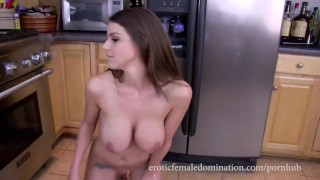 JOI - Mother strips for sons schoolmate  masturbation solo girl masturbate mom solo tattoo brunette joi shaved tight mother big boobs fake tits huge tits