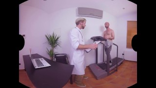 Doctor's virtualrealgaycom day handjob blowjob