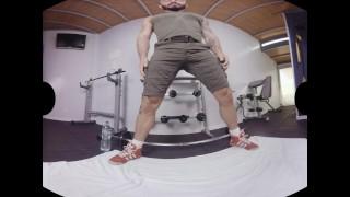 VirtualRealGay.com - Shake it up gym Gay raw
