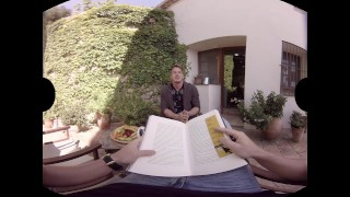 VirtualRealGay.com - Tutti frutti Wanking interview