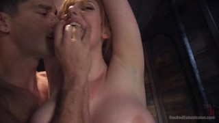 Assfuck Asylum  rope bondage big tits role play big cock bdsm submission humiliation redhead blowjob straight domination sexandsubmission anal bondage vaginal penetration corporal punishment