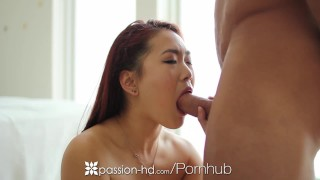 PASSION-HD Asian Lea Hart uses anal beads before ass fuck  asian babe ass fuck big cock hd anal toys cumshot analized pounded 4k anal sex 60fps drilled shaved anal beads lea hart passion hd