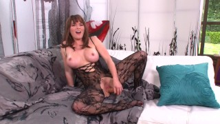 Krissy Lunn Mastrubates and Squirts for Her Man!