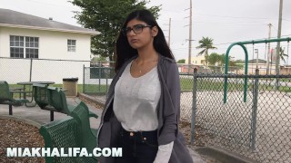 Black mia khalifa craves mk against dick big boyfriend's wishes sexy mia