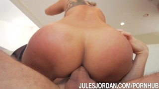 Jules Jordan - Kaylani Lei Gets A Fat Cock Up Her Tight Asian Ass ass to mouth natural asian julesjordan big cocks tattoo japanese blowjobs anal happy ending ass fuck singaporean asian anal hd facial