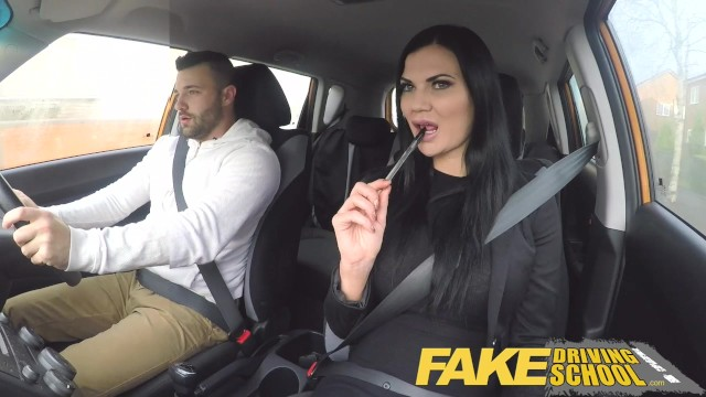 Fake Driving School Busty