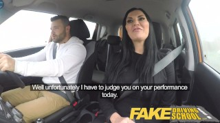Fake Driving School Jasmine Jae fully naked sex in a car black-hair 69 long-hair big-tits british british-porn blowjob naked big-boobs cumshot porn-star fds fakedrivingschool car-porn fake-tits car-sex