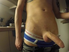 little boy - big dick - huge cumshot