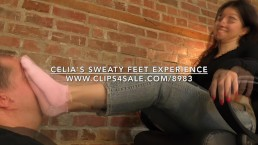 Celia's Sweaty Feet Experience - www.c4s.com/8983/17378222