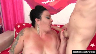 Mature young cock big takes plumper ass jeffsmodels