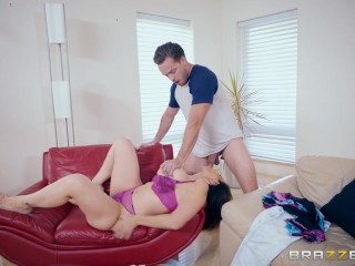 Dirty milf Sara Jay fucks hers sons friend - Brazzers