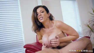 Dirty milf Sara Jay fucks hers sons friend - Brazzers Trimmed big