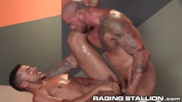 RagingStallion Sean Duran Hammers Hot Ass