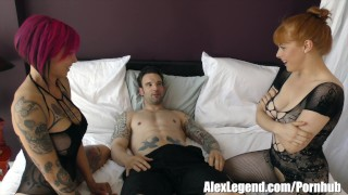 Hottest Threesome with Busty Anna Bell Peaks & Penny Pax! Girlsdoporn mouth
