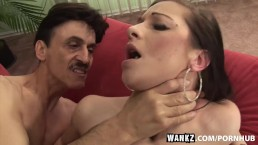 WANKZ- Nubile Cock Slut and Older Man