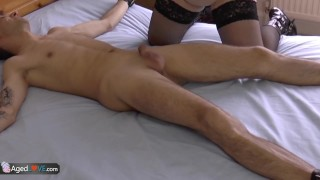AgedLovE Lacey Starr Fucked Hard to Ass From Behind Humiliated gag