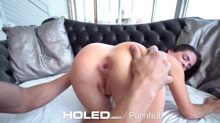 Keisha clean dick holed grey asshole filled up with gets fingered and whooty facial