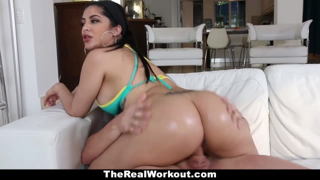 Cuban shemale - Teamskeet - curvy cuban babe fucks beach volleyball coach