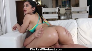 TeamSkeet - Curvy Cuban Babe Fucks Beach Volleyball Coach  raven booty jizz spandex gym busty teamskeet workout butt sexy sports latin facial big boobs kitty caprice therealworkout shorts