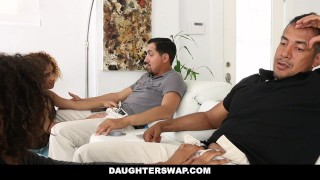 Ebony for fucked daughters daughterswap punished sneaking out foursome girl