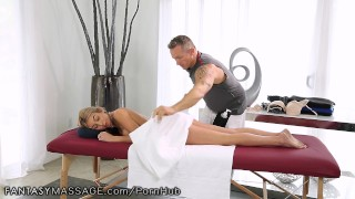 FantasyMassage Kat Dior Learns How to Squirt Natural soft
