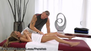 FantasyMassage Kat Dior Learns How to Squirt Trans tgirl