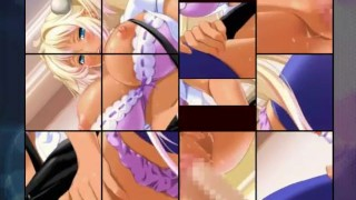 Puzzle hentai  game animation