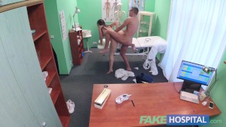 Fake Hospital Czech babe has multiple orgasms while fucking doctor