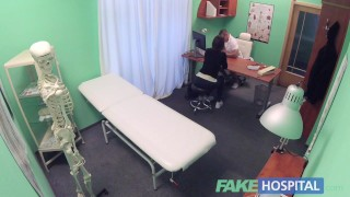 Fake Hospital Czech babe has multiple orgasms while fucking doctor porno