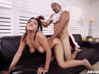 Martinez Mia Christmas video: Mia Martinez Receives Christmas Punishment (am15733)