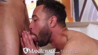 Carson after and park blowjob workout fuck manroyale cruise with cum throat