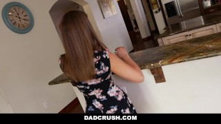 DadCrush - Bribing my Hot Step-Daughter To Fuck  step father point of view dad fucks daughter step daughter teen cumshot small tits pov liza rowe young smalltits stepdad petite bigcock teenager dadcrush step daddy