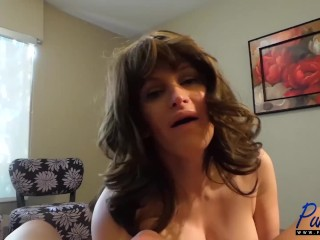 busty Canadian Tasha Jones jerks off her man