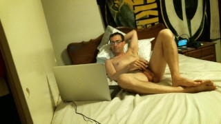 Inexperienced and watching videos of hard sex and Blowjob