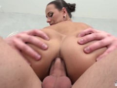 FakeShooting - Fake agent fuck his boss Mea Melone in the ass & having fun