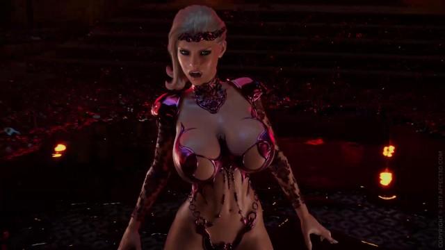 Bloodlust: Cerene Teaser - 3D Fantasy Vampire 3DX Affect3D ...