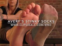 Avery's Stinky Socks - www.c4s.com/8983/17408948