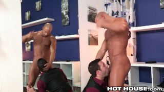 HotHouse Sean Zevran Pounds Tailors Ass with Hot Cock Huge threesome