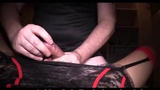 Stockings in red so hard drill ladyboy asian ladyboy