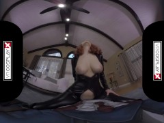 Avengers XXX VR porn Black Widow's Big Tits Take a HUGE COCK VRCosplayX.com