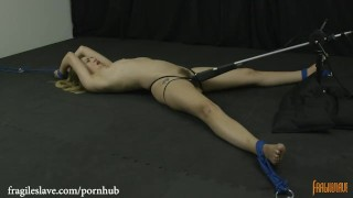 Lyra is Bound Helpless, Spread Wide and Cumming
